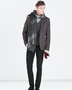 ZARA - MAN - COMBINED TWEED JACKET