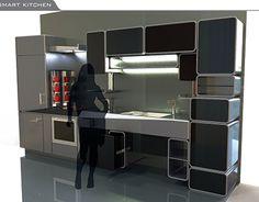 "Check out new work on my @Behance portfolio: ""Smart Kitchen"" http://be.net/gallery/54891785/Smart-Kitchen"
