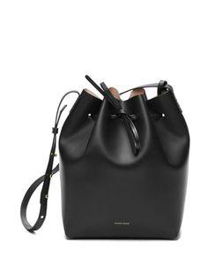 MANSUR GAVRIEL Large Bucket Bag With Ballerina Interior