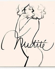 Illustration, nudity / Garance Doré