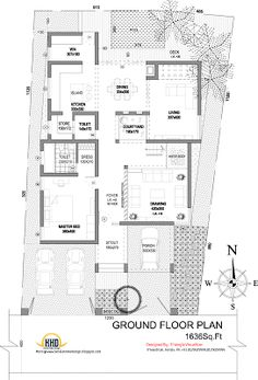 Awesome U Shaped House Plans with Courtyard Pool U Shaped House Plans with Courtyard Pool . Awesome U Shaped House Plans with Courtyard Pool . Courtyard House Plans with Pool Plan Enchanting Modern L Modern House Floor Plans, Pool House Plans, Simple House Design, Modern House Design, Interior Courtyard House Plans, U Shaped House Plans, Flat Roof House Designs, Indian House Plans, Free House Plans