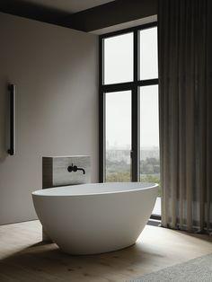 Nordic Interior, Apartment Interior Design, Baths Interior, Bathroom Interior, Sofa Design, Furniture Design, Minimalist Dining Room, Appartement Design, Contemporary Floor Lamps