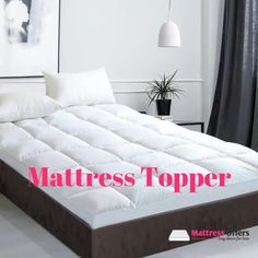 Shop From Mattress Offers' Exclusive Range of Mattress Topper  🛍LAY DOWN FOR LESS At #MATTRESSOFFERS - FOR YOUR BEAUTIFUL HOUSE🛍   A mattress topper is usually held on the top of a mattress to add an extra layer of comfort to your bedtime. Its use manifests when your mattress starts getting old or it gives a sign of retirement. It's not that you would be replacing a mattress every time and also protecting it makes sense for its longevity.  #mattresstopper #afterpaymattress Old Mattress, Pillow Top Mattress, Queen Mattress Topper, Goose Feathers, Down Feather, Dust Mites, Good Night Sleep, Queen Size, Getting Old