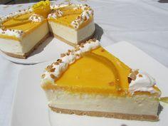 Los fogones de Ana Sevilla: Tarta helada de limón Churros, Cheesecake, Deserts, Pudding, Favorite Recipes, Sweets, Chocolate, Baking, Easy