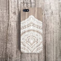 MENS Cases iPhone 5 Case Wood Print Geometric by casesbycsera