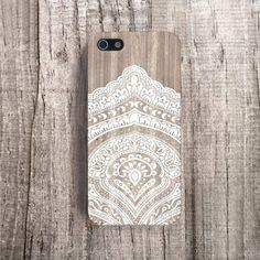 iPhone case lace iPhone 4 case iPhone 4s case designer iphone case wood iPhone 5s case white iphone 5 case boho