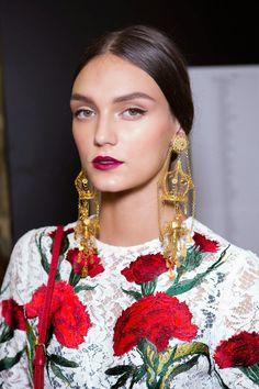 Fashion Show: Dolce & Gabbana S/S 2015 Backstage ♥♥♥