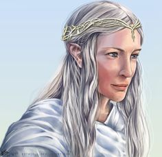 Lady of Light by *Esthiell on deviantART ~ Galadriel ~ LOTR