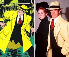 Comic-Book Costumes From Page To Screen | Dick Tracy