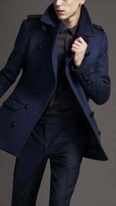 Burberry London men's coat.