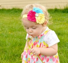 baby girl headbands and outfits