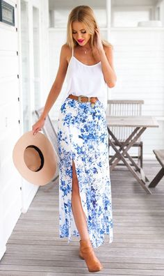 Mura On-line Vogue Boutique | Mystery Yard Maxi Skirt