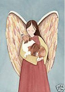 Idea for Pets in my Mixed Media Angel Art