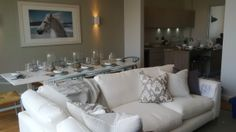 Our new show home at The Sands, Polzeath! Sofa, Couch, New Shows, Sands, Interiors, Holiday, Furniture, Home Decor, Homemade Home Decor