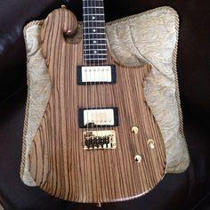 Booches Custom Guitars: Zebrawood #1