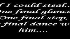 Dance with my father again- Celine Dion Lyrics - YouTube