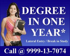 Admission Helpline No. +91 999913-70-74, 0844-784-7044  For some students attending regular classes is quite difficult as they remain busy with their hectic work schedule. In such cases, distance learning programs are really help as it enables them to earn a degree according to their own time and convenience.