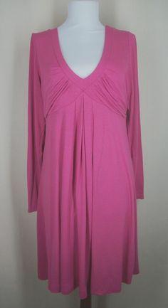 INC international concepts Size L Pink Empire Waist Jersey Knit Dress #INC #EmpireWaist #Casual
