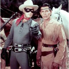 The Lone Ranger and Tonto - one of very few children's adventure programmes at the time. I hated westerns, but think I watched this because of the horses!