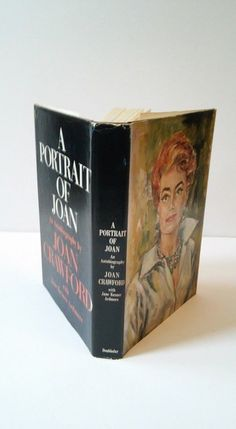 RARE First Edition The Portrait of Joan Crawford Hollywood Bio with Jacket Book