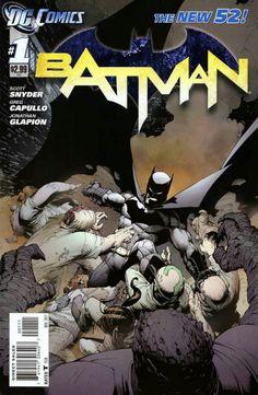 Batman vol. 2 #1 by Greg Capullo