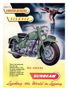AP250 - Motorcycle Ad - Sunbeam