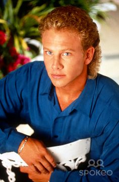 Ian Ziering-- I have a postcard like this that was autographed by him back in the Steve Sanders, Ian Ziering, Jason Priestley, Tiffani Thiessen, Shannen Doherty, Beverly Hills 90210, Picture Movie, Tv Series, Tv Shows