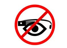 The Google Glass already beginning to be banned   GOILD