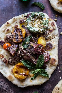 Grilled Lamb Tikka with Caramelized Apricots + Pine Nut Labneh | halfbakedharvest.com @hbharvest