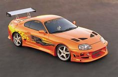 The Fast and the Furious 1994 Toyota Supra Turbo