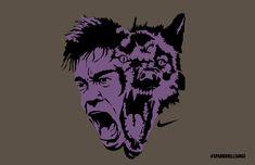 the_Switch_Wolf Print Ads, Wolf, Joker, Fictional Characters, Design, Art, Art Background, Print Advertising, Kunst