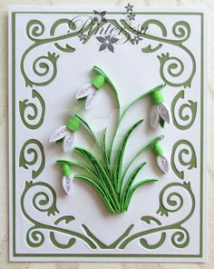 Quilled greetincard by pinterzsu