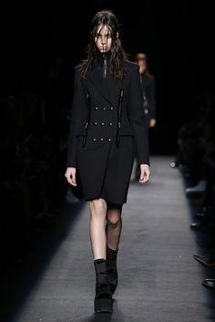 Alexander Wang RTW Fall 2015 - Slideshow  Like jacket trim detail.