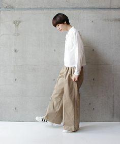 ストレッチチノ 3タックワイド(パンツ)|note et silence (ノートエシロンス)のファッション通販 - ZOZOTOWN