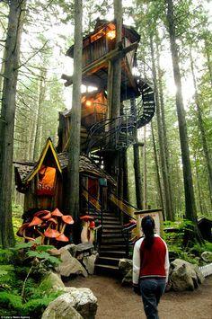 coolest tree houses - Поиск в Google