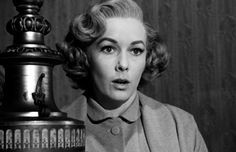 Vera Miles was another one of Hitchkock muses - she was supposed to play Kim Novack's role in Vertigo but could not accept due to a pregnancy. She was in The Wrong Man (1956), Psycho (1960)