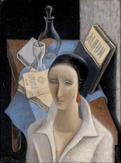 JFemale Bust and Still Life, by Jean Metzinger (French, 1883–1956)