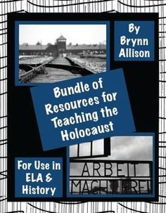 This bundle, over a 30% savings, includes nine of my best-selling Holocaust resources, all of which are perfect additions to your unit on the Holocaust in either an English Language Arts or history classroom.  Included: *Holocaust Victims Identity Cards Activities *FREE Holocaust Victims Identity Cards *Holocaust Research Packet *Nazi Party Propaganda from WWII *Nutrition During the Holocaust & WWII *Holocaust Themed Nonfiction Readings & Responses *Holocaust Intro PowerPoint *And more