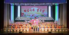 학생소년들의 설맞이공연 《해님나라 열두달》 련일 진행-《조선의 오늘》