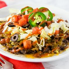 Skinny Mexican Tortilla Pizza from Skinny Mom