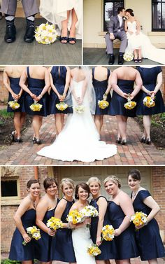 blue, gray, and yellow wedding, Minnesota wedding, bride and groom, adorable wedding, vintage inspired, creative DIY wedding ideas