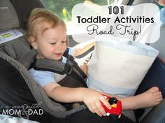 101 Toddler Activities - Road Trip | A Year with Mom & Dad