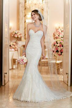 Wedding gown by Stella York, Style 6286