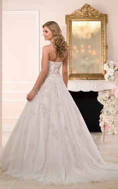 6048 - Stella York #StellaYork #WeddingDress #Spring15  Available at Brandi's Bridal Galleria, etc. Visit www.brandisbridal.com for more info!