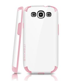 Itskins Utopia Snow Gel Hard Shell Case for Samsung Galaxy S3 - Pink £12.75