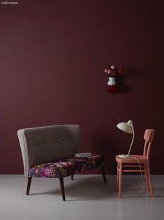 Винный декор: 16 интерьеров в цветах бургунди – Вдохновение