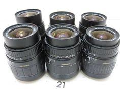 5L291GB SIGMA 28-80mm F3.5-5.6 レンズまとめて6本ジャンク_画像1
