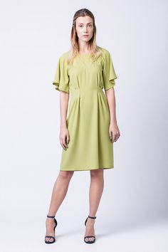 I love the sleeves on the Ansa dress by Named Clothing