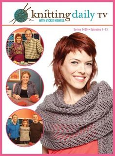 New Series of Knitting Daily TV Airing Now