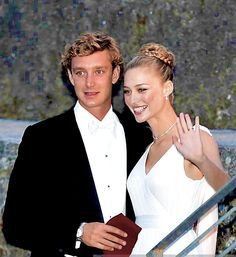thecambridgees:  Wedding Reception of Pierre Casiraghi and Beatrice Borromeo, Lake Maggiore, Italy, August 1, 2015-The newlyweds